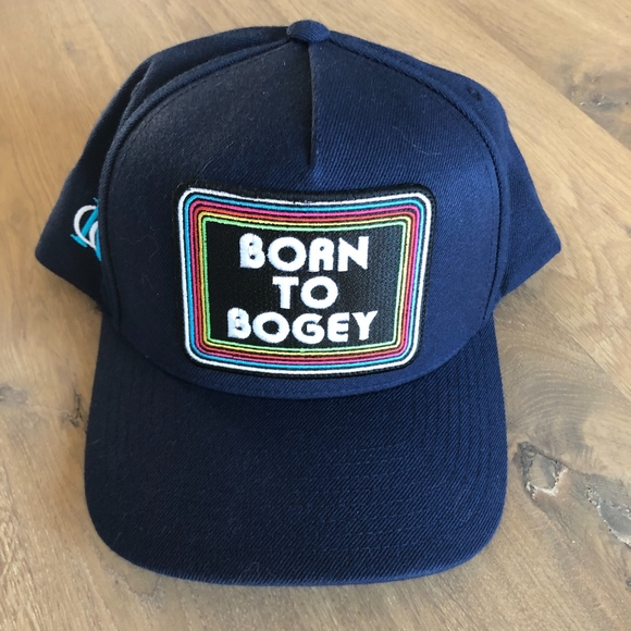 aa3c78bba Mens golf hat NWT Born to Bogey NWT